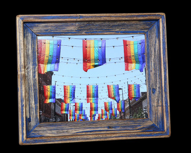 Rainbow Flags (Blue) 1 - Click Image