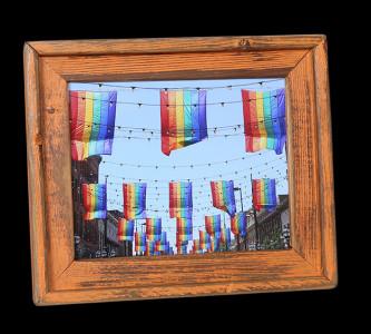 Rainbow Flags (Orange) - Click Image